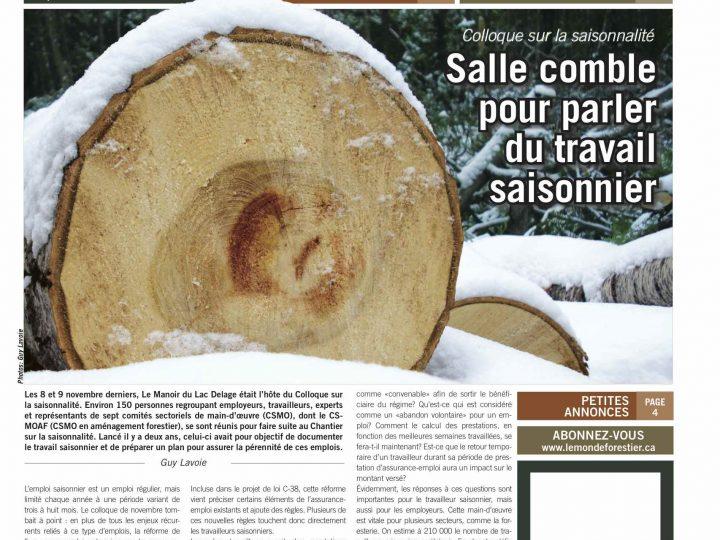 Le Monde forestier 2012