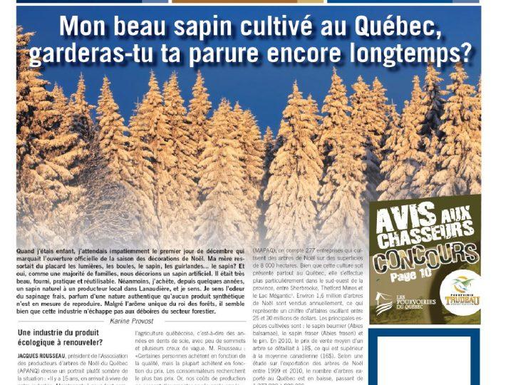 Le Monde forestier 2011