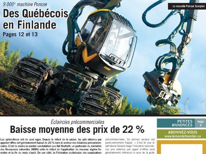 Le Monde Forestier 2013