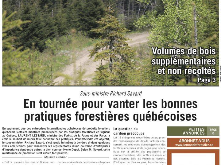 Le Monde Forestier 2014