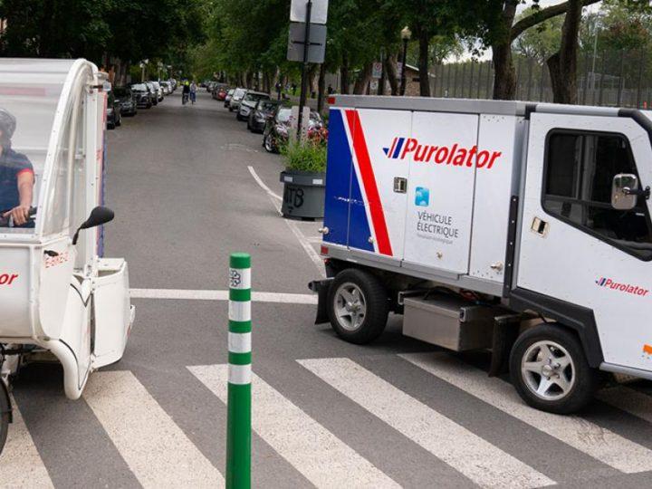 Les camions de livraison électriques augmentent au pays
